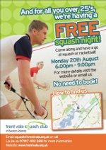 Free Squash Night