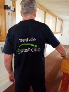 Chris modelling his Trent Vale T-Shirt!